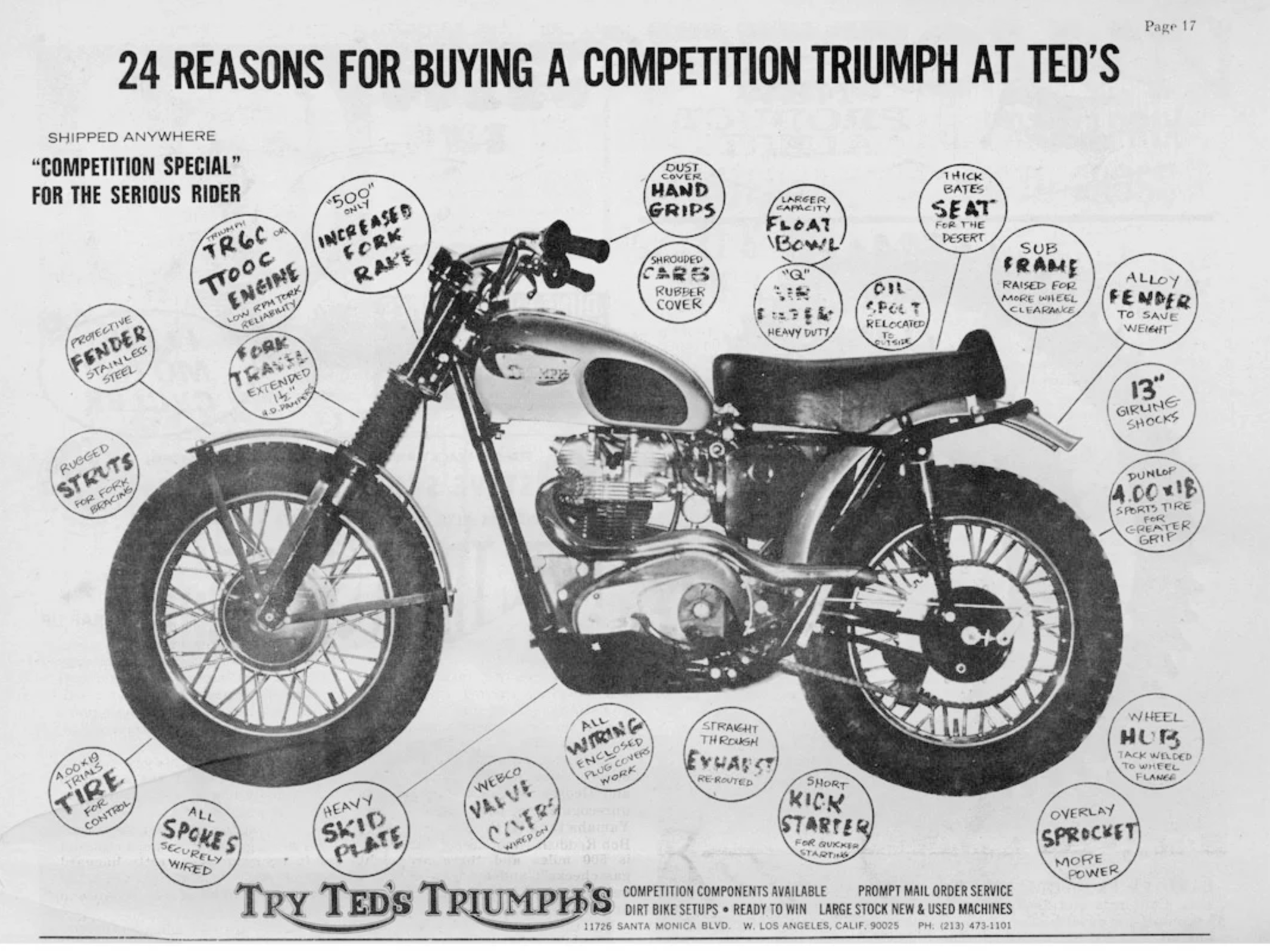 Build your own Triumph Desert Sled like the King of Cool - Age of Glory